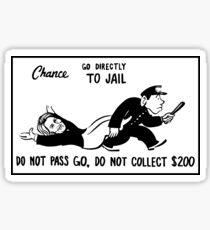 Go Directly to Jail 2016 Sticker