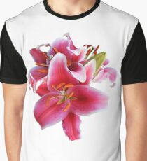 Cluster of Stargazer Lilies Graphic T-Shirt