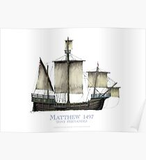 The Matthew 1497 - tony fernandes Poster