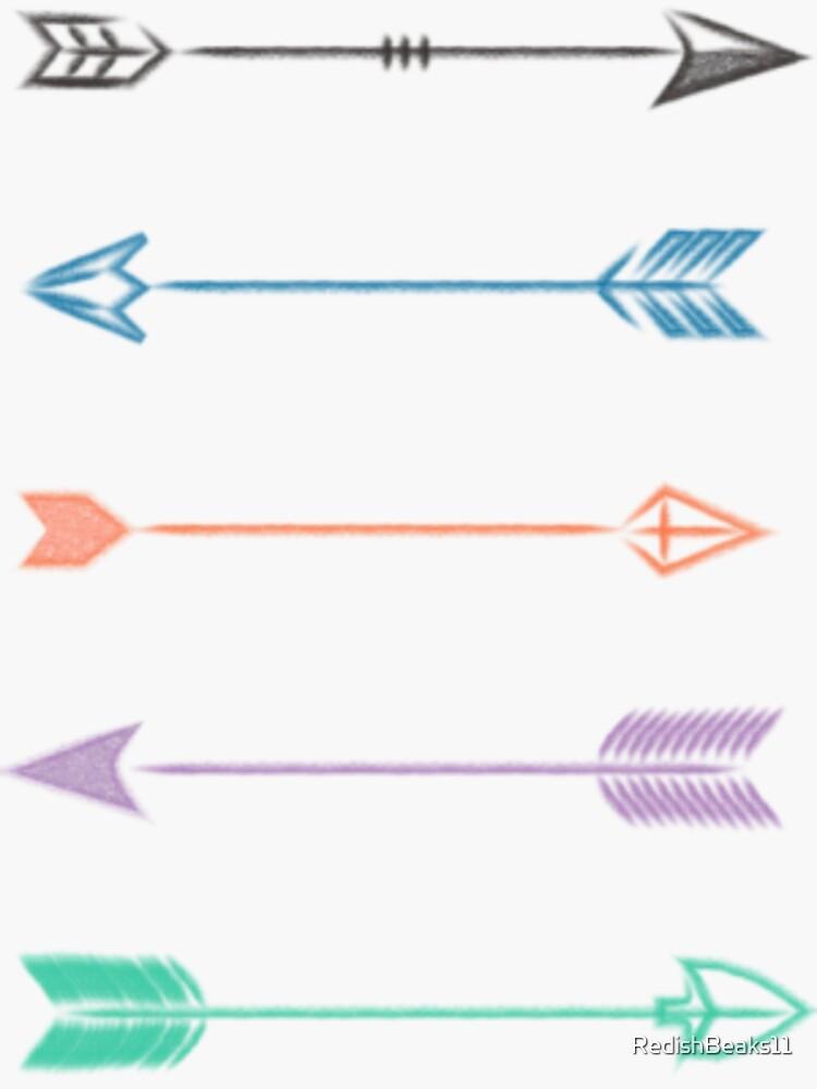Arrows by RedishBeaks11
