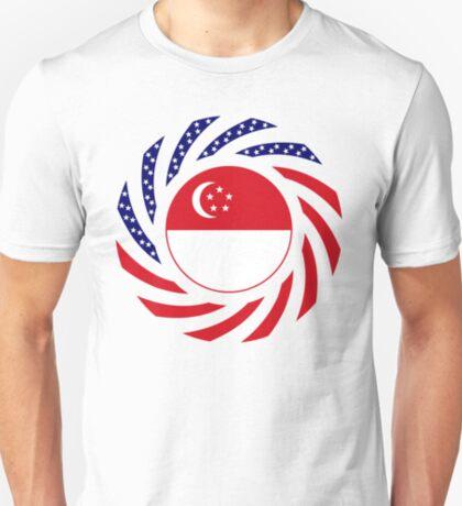 Singapore American Multinational Patriot Flag Series T-Shirt