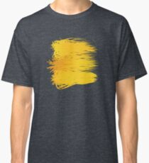 Speckle Gravity Yellow Classic T-Shirt
