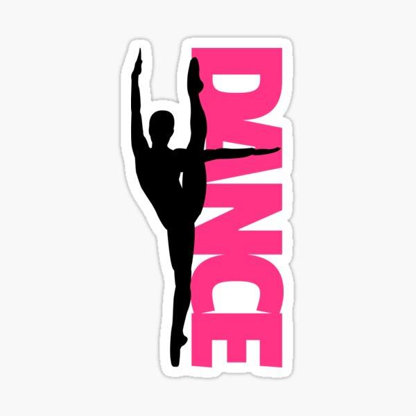 Danse Texte Fille Citation Sticker