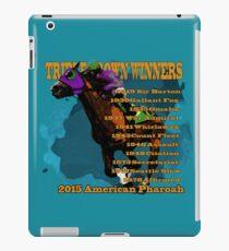 Triple Crown Winners 2015 iPad Case/Skin