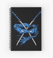 Blue Fury Spiral Notebook