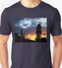 Sunset on my street Unisex T-Shirt