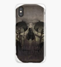 Desolate mind - Skull Collection iPhone Case/Skin