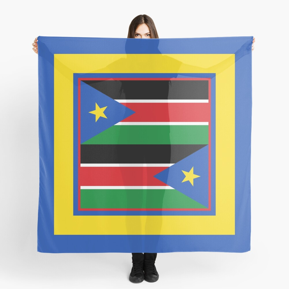 South Sudan Phone Cases & Gifts (7) Scarf