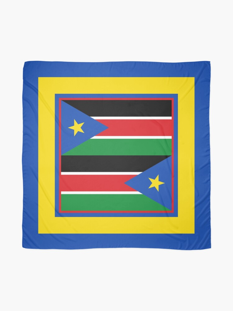 Alternate view of South Sudan Phone Cases & Gifts (7) Scarf