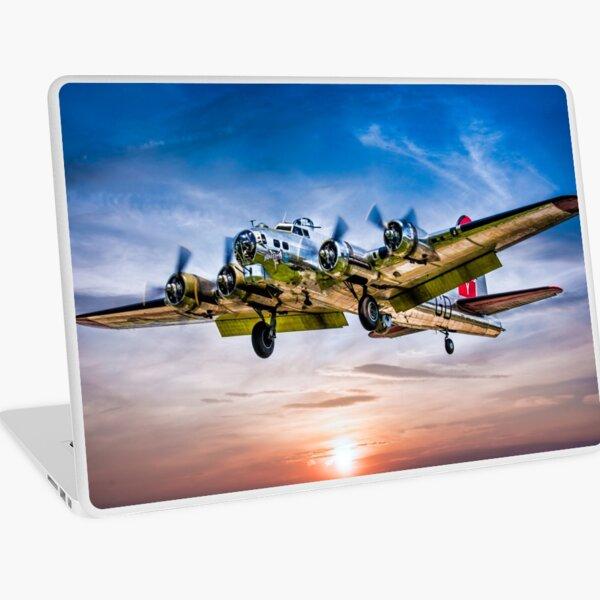 "Boeing B-17G Flying Fortress ""Yankee Lady"" Laptop Skin"