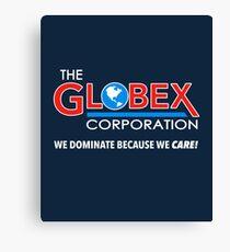 Globex Corporation T-Shirt Canvas Print