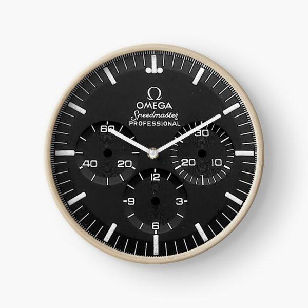 Omega Pro Black Series Clock