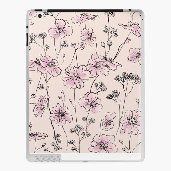 Wild Roses - Pastel colors iPad Skin