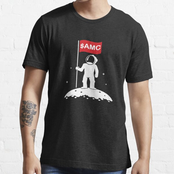 AMC Stock to the Moon with Astronaut Essential T-Shirt