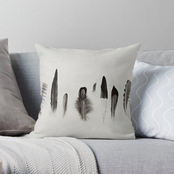 Feather Study no. 3 Throw Pillow