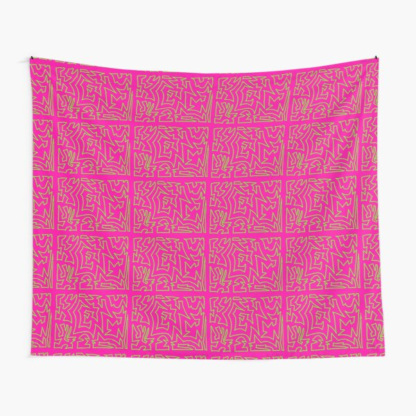 electric bubble gum Tapestry