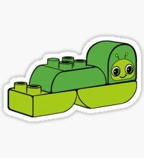 The Duplo Worm 10573 Sticker