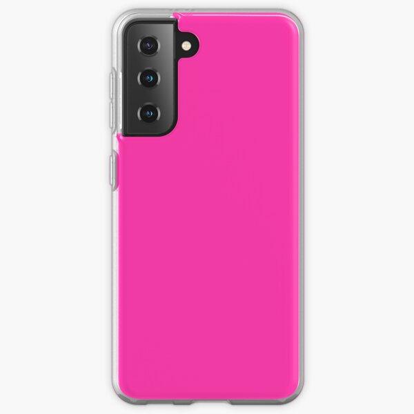 Fluorescent Neon Hot Pink  Samsung Galaxy Soft Case