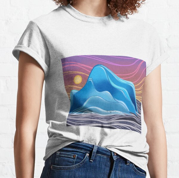 Great Blue Ice Classic T-Shirt