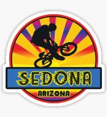 MOUNTAIN BIKE SEDONA ARIZONA BIKING MOUNTAINS Sticker