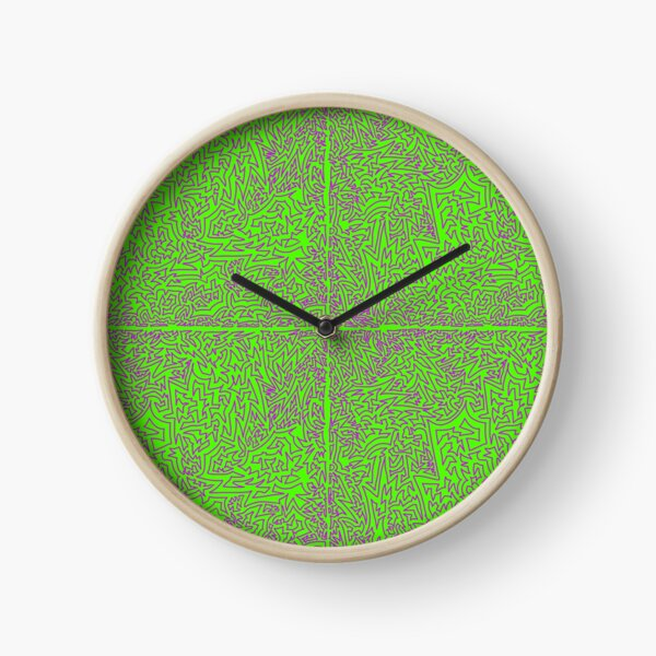 minty fresh Clock