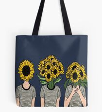 Sunflower Humans Tote Bag