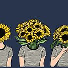 Sunflower Humans by Priyanka Paul