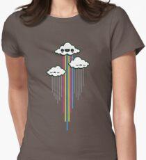 Echte Farben Tailliertes T-Shirt für Frauen