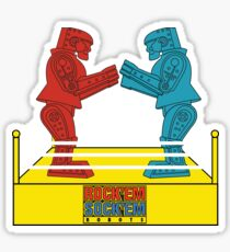 Rock'em Sock'em - 2D Original Sticker