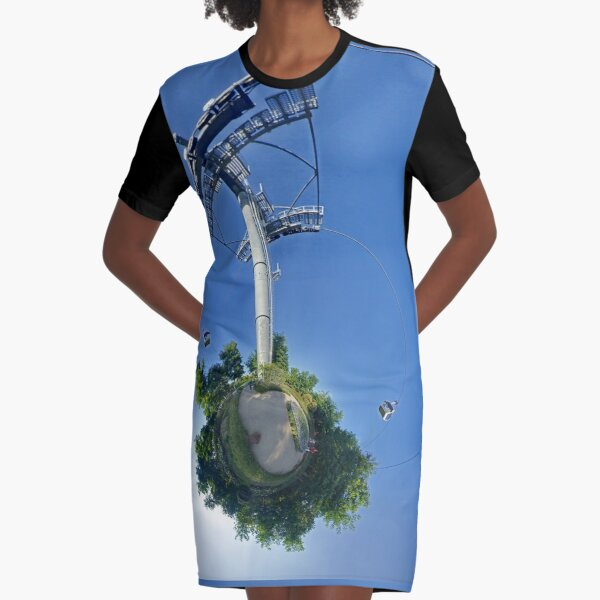 Cable car at Floriade 2012 Graphic T-Shirt Dress