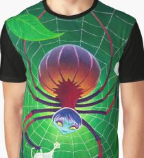 Spider Snack Graphic T-Shirt