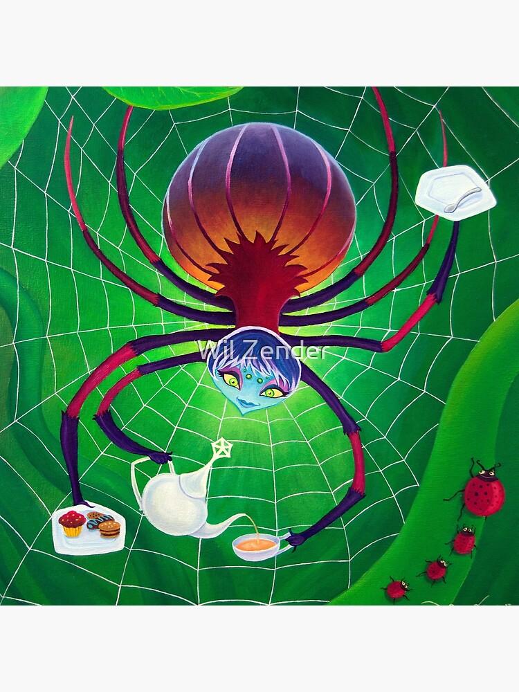 Spider Snack by wilzender