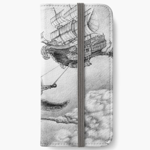 Wind Whales iPhone Wallet