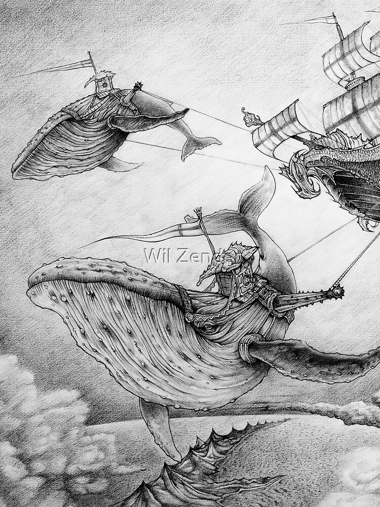 Wind Whales by wilzender