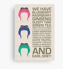 Myriad Of Teas Canvas Print