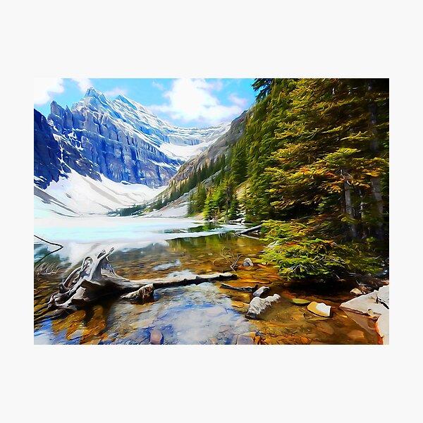 Arctic Lake Photographic Print