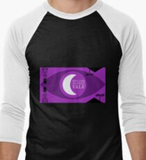 Night Vale Landscape Men's Baseball ¾ T-Shirt