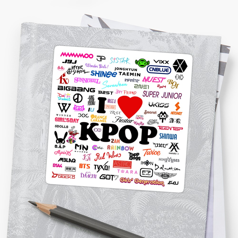 I <3 K-POP by angelscreations
