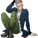 Punk Twelfth Doctor by PopcornIllus