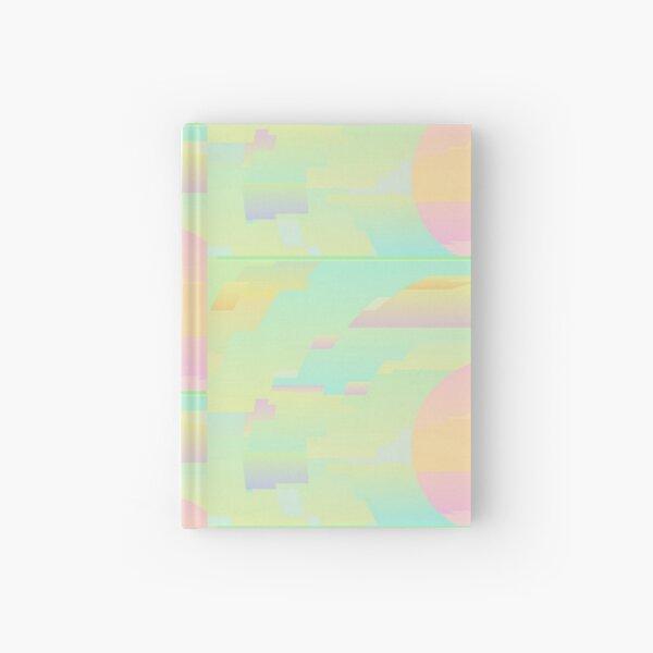 Abstract Sky Digital Art Hardcover Journal