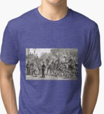 Victorian Style Congestion in London Tri-blend T-Shirt