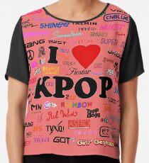 Ich <3 K-POP Chiffontop