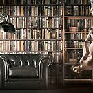 In the Library by Jeff Kingston