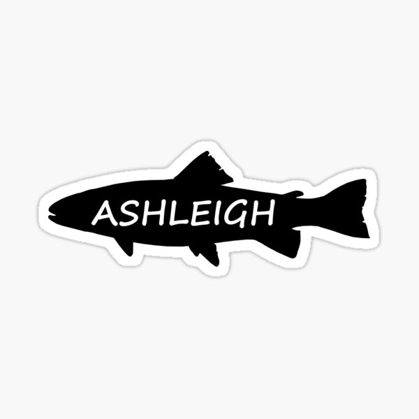 Ashleigh Fish Sticker