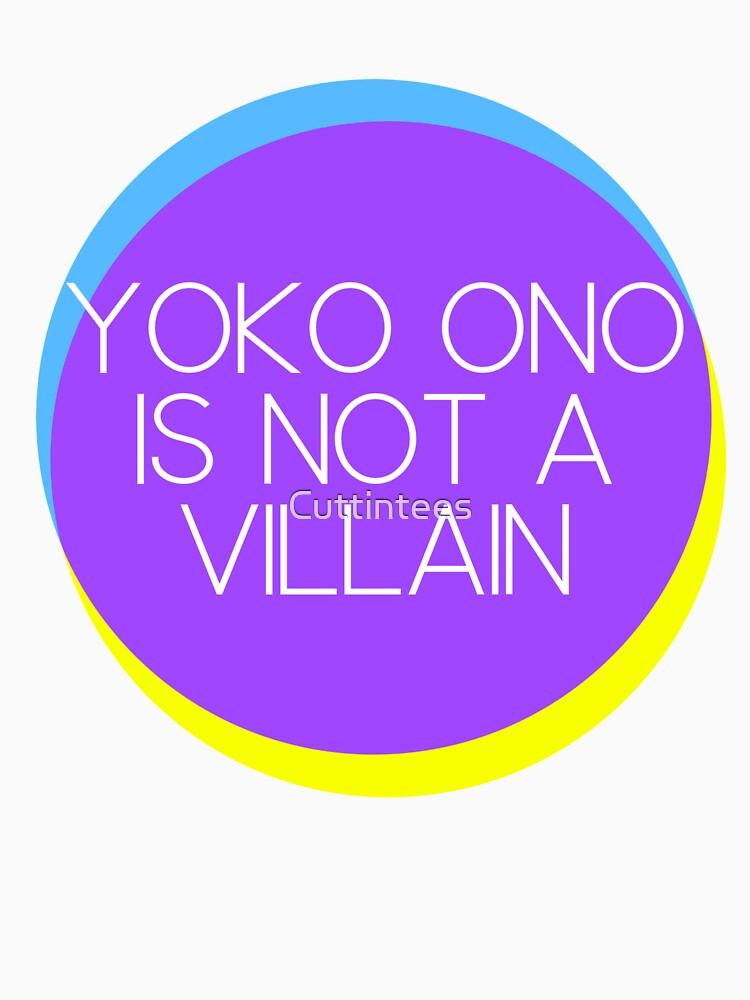 Yoko Ono is not a Villain by Cuttintees