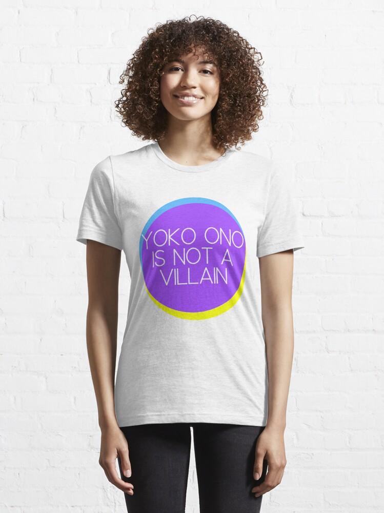 Alternate view of Yoko Ono is not a Villain Essential T-Shirt