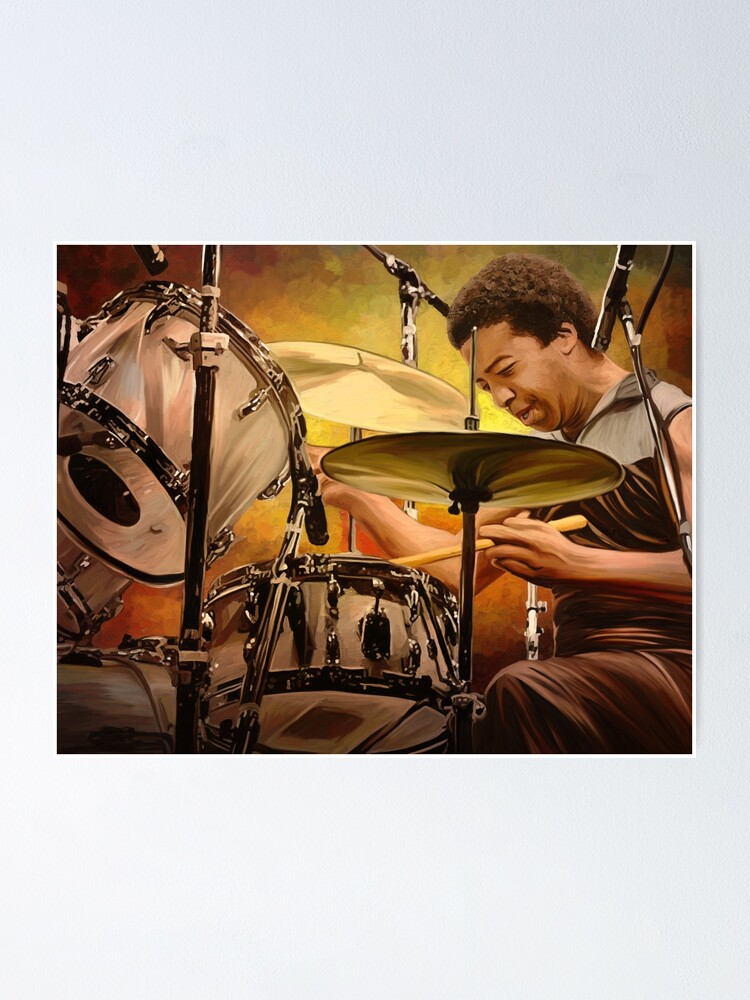 Alternate view of Honoring Tony Williams: Great Jazz Drummer Poster