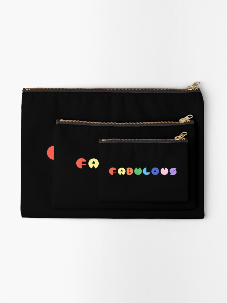 Alternate view of Fabulous  Zipper Pouch