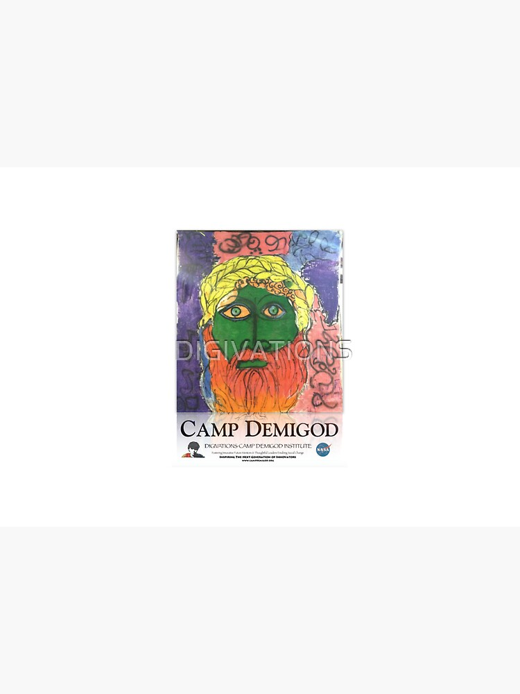 Zeus!  Camp Demigod Poster by DIGIVATIONS