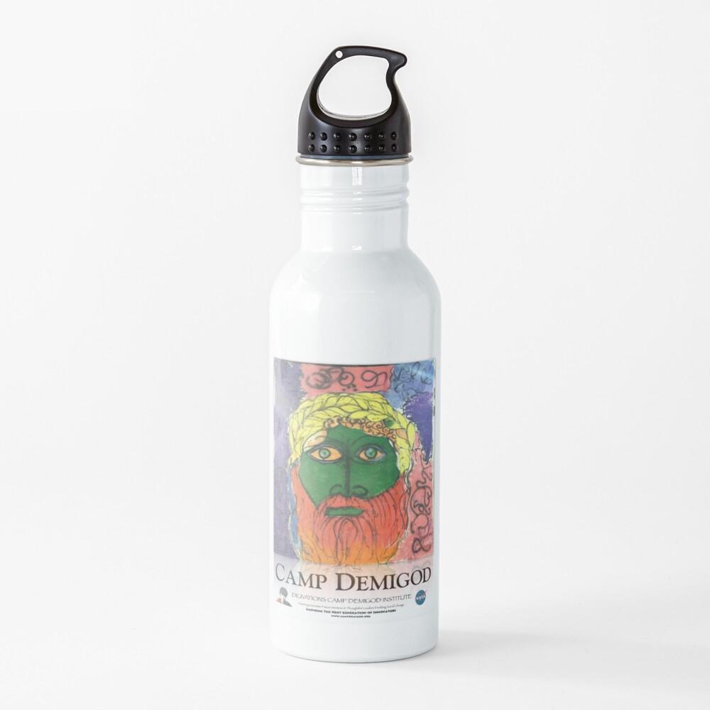 Zeus!  Camp Demigod Poster Water Bottle
